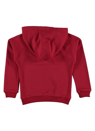 Morhipo Kids Kapşonlu Baskılı Sweatshirt Kırmızı